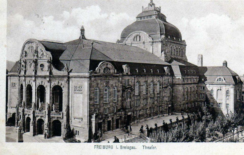 Stadttheater Freiburg 1920