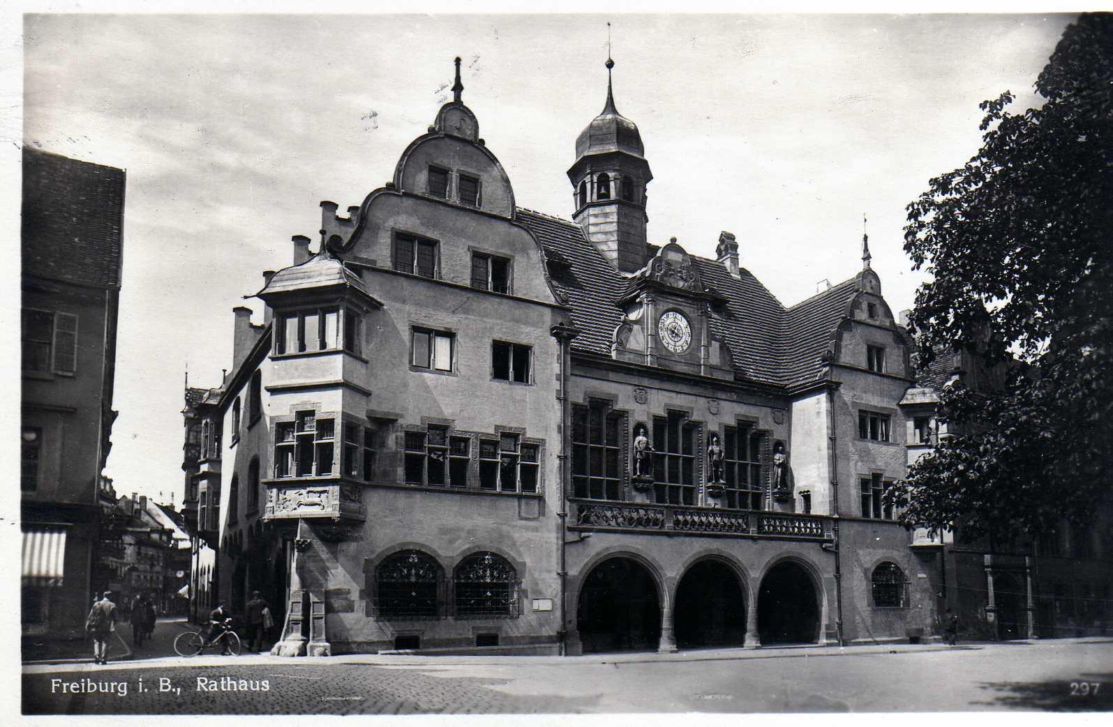 Rathaus_Freiburg_1930er