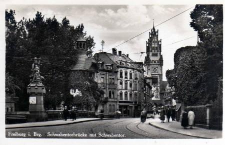 Schwabentorbrücke_um_1920