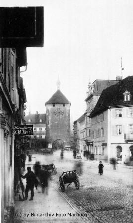 Martinstor Freiburg vor 1901