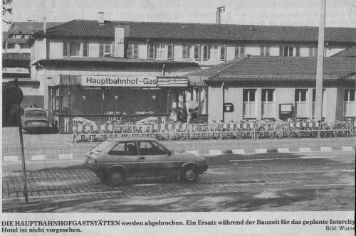 Bahnhofsgaststätte Freiburg