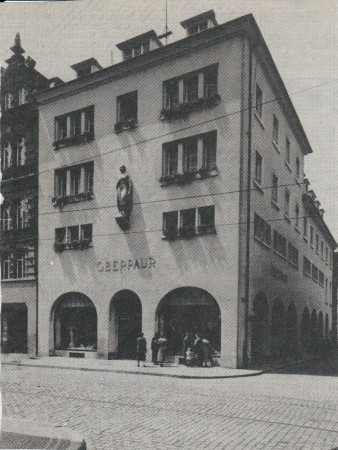 Oberpaur Freiburg vor 1944