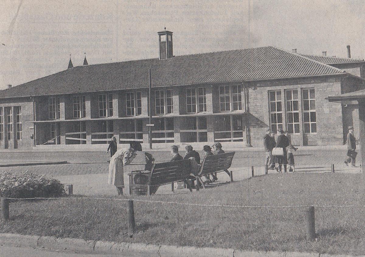 Provisorium Bahnhof Freiburg 1947