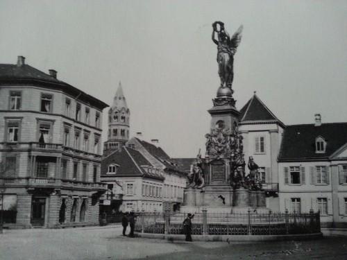 Siegesdenkmal_Freiburg_vor_1900