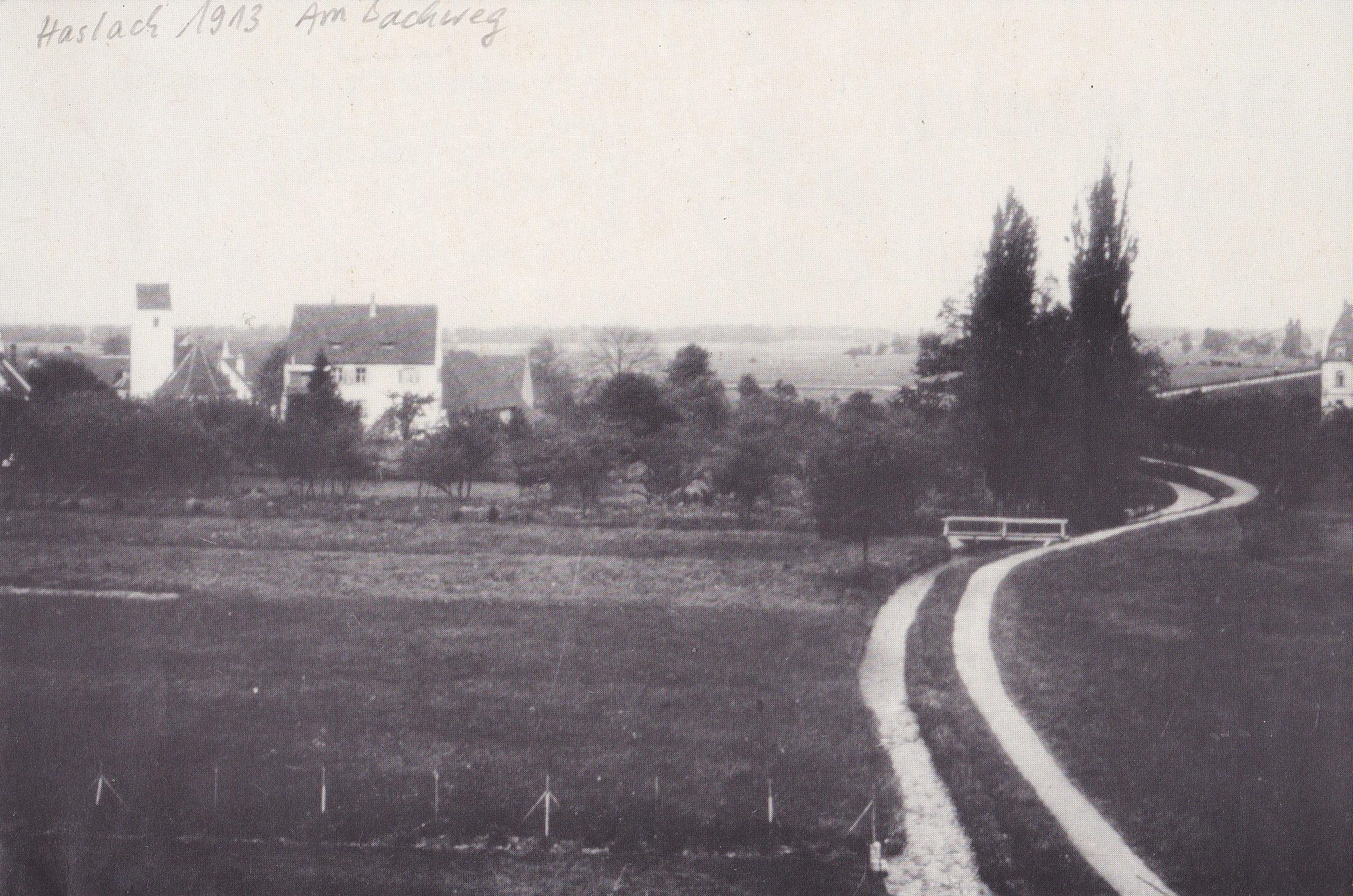 Freiburg Haslach 1913