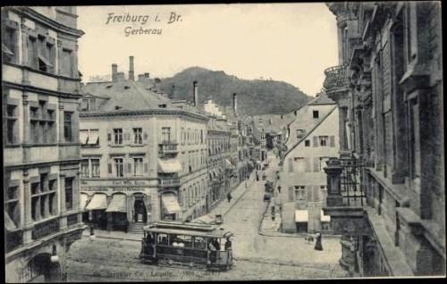 Freiburg Gerberau 1904