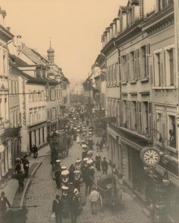 Eisenbahnstraße um 1900