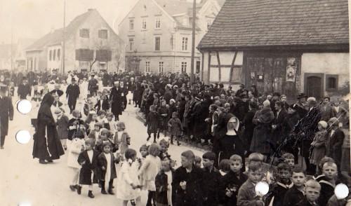 Haslach Kinderumzug 1930