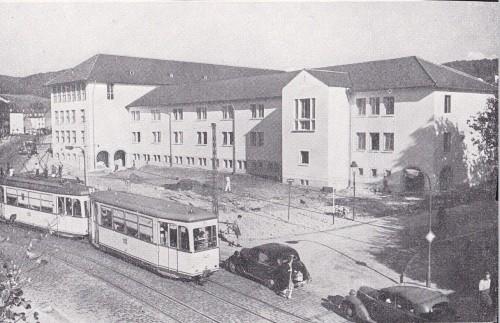 Lortzingschule Anfang 1950er