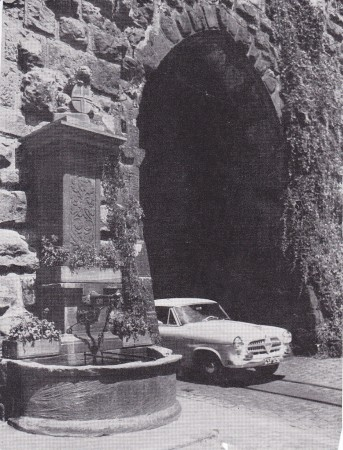 Schwabentor Anfang 1950