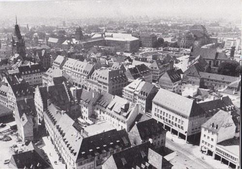 Innenstadt Anfang 1950er