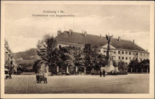 Karlskaserne und Siegesdenkmal heute Sozial und Jugendamt