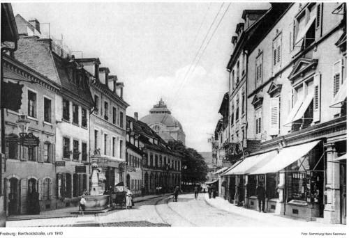 Bertoldstrasse_Freiburg_1910