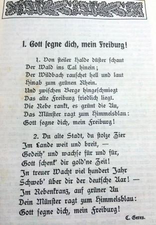 Freiburg Gedicht