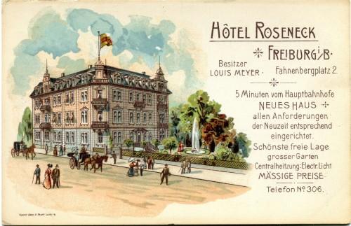 Hotel Roseneck b.