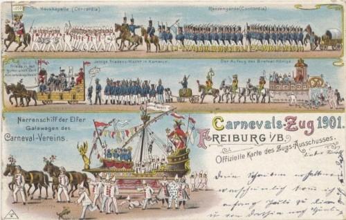 Fasnet-Umzug Freiburg 1901