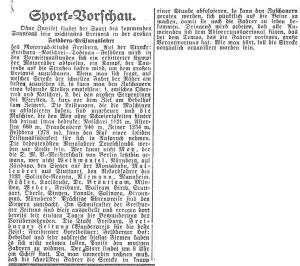Vorbericht der Freiburger Zeitung vom 21.06.1924