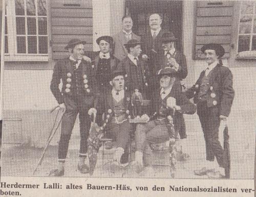 Herdermer Lalli vor 1939