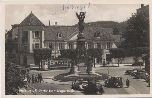 Siegesdenkmal ca. 1930