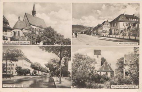 33  vier-Bildkarte 1948