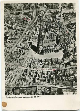 Luftaufnahme 1945