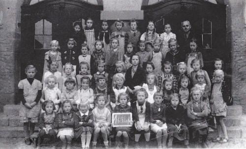 Pestalozzischule Schulklasse 1940