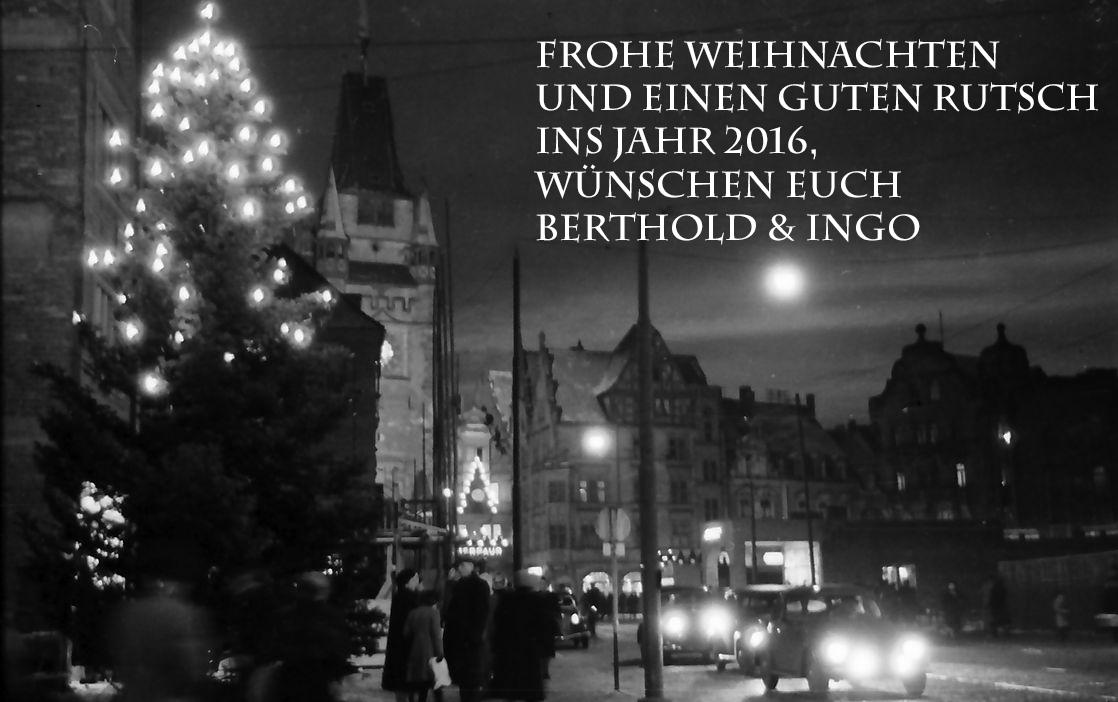 Frohe Weihnachten in Freiburg