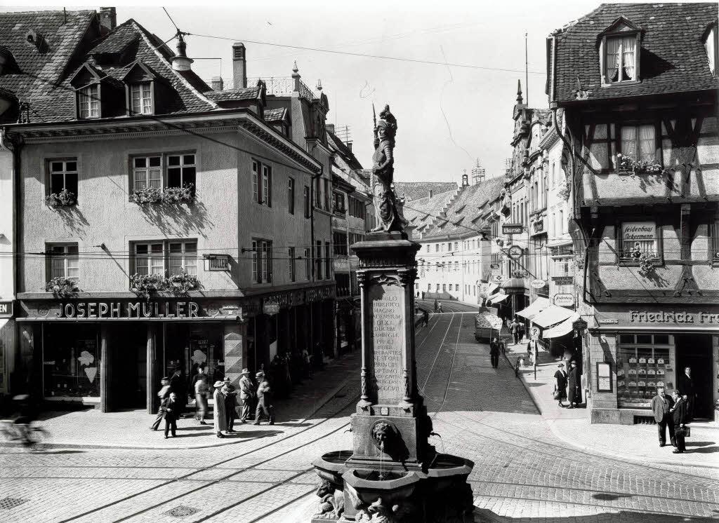 Bertoldsbrunnen_um_1930