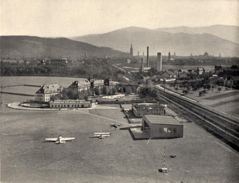 Flugplatz Freiburg 1933