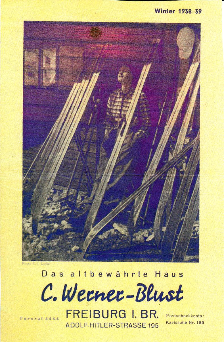 Katalog Kaufhaus Werner-Blust Freiburg