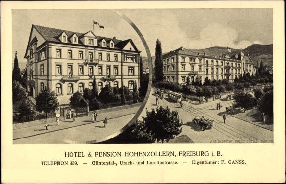 Freiburg Hotel Hohenzollern
