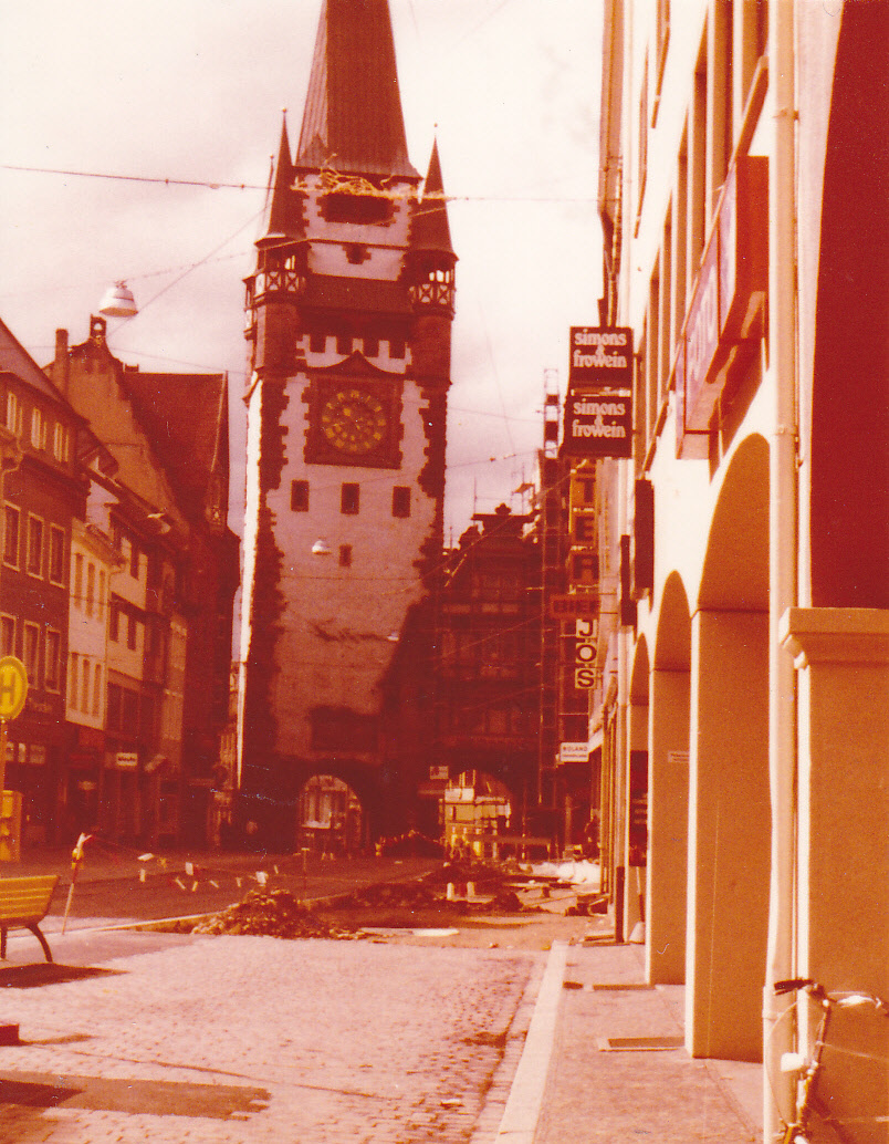 Stadtmitte 1977 mit martinstor