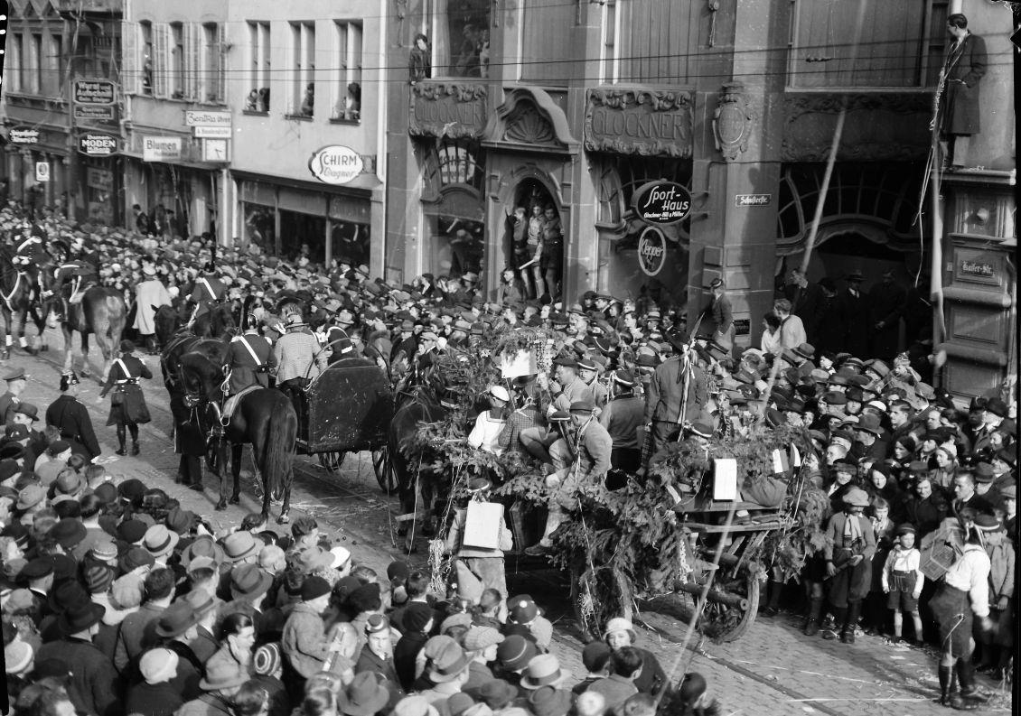 Fasnetumzug 1936
