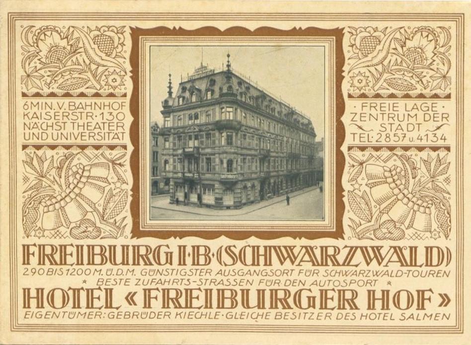 Hotel Freiburger Hof Freiburg